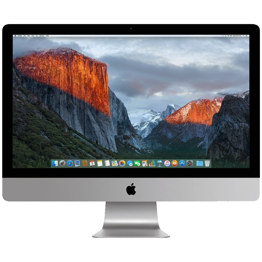 2 Available Refurbished Apple iMac 27 - Intel i5 Up To 3.1Ghz - 8GB Memory - 500GB SSD Drive - High Sierra Apple OS