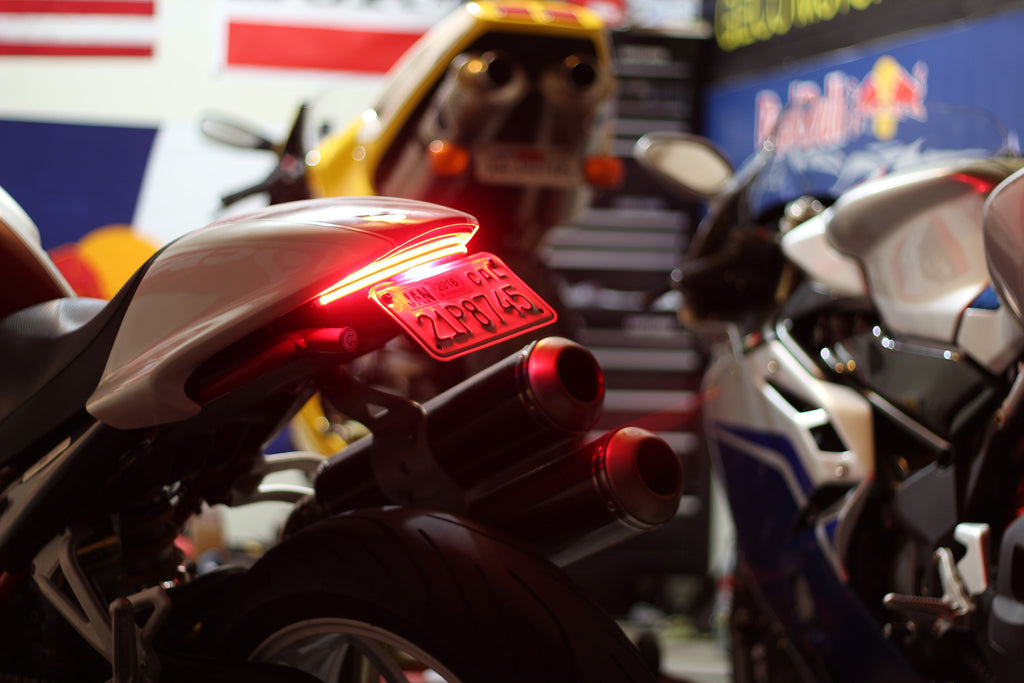 Motobox Dual Row Slimline LED Integrated Taillight for the Ducati Monster (02-07)