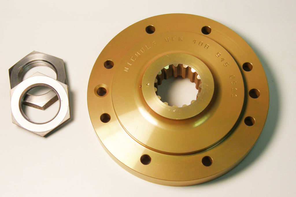 Nichols Lightweight Flywheel for 1999+ Fuel Injected Motorcycles