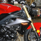 New Rage Cycle Triumph Street Triple Front Turn Signals | 2013-Present