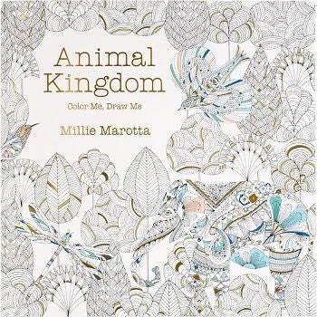 Animal Kingdom Coloring Book (mini)