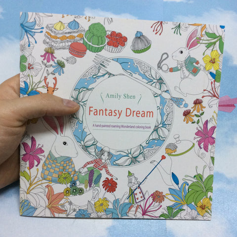 Fantasy Dream Adult Coloring Book (mini)