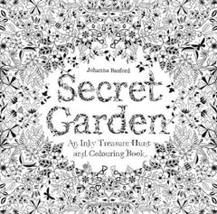 Secret Garden An Inky Treasure Hunt And Coloring Book Mini Adult Colouring Books