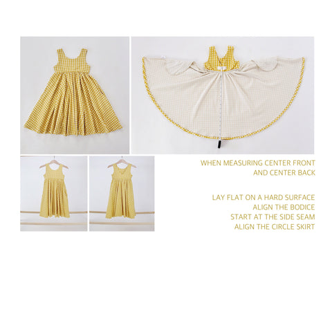 60eae806566c0 TWIRL DRESSES: Due to the nature of a cotton/lycra knit circle skirt and  the amount of gathering and fabric the skirt will have a higher center  front/center ...