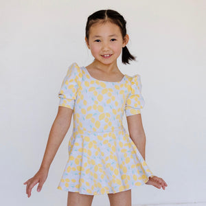 L/S DAY DRESS - FRENCH MAUVE