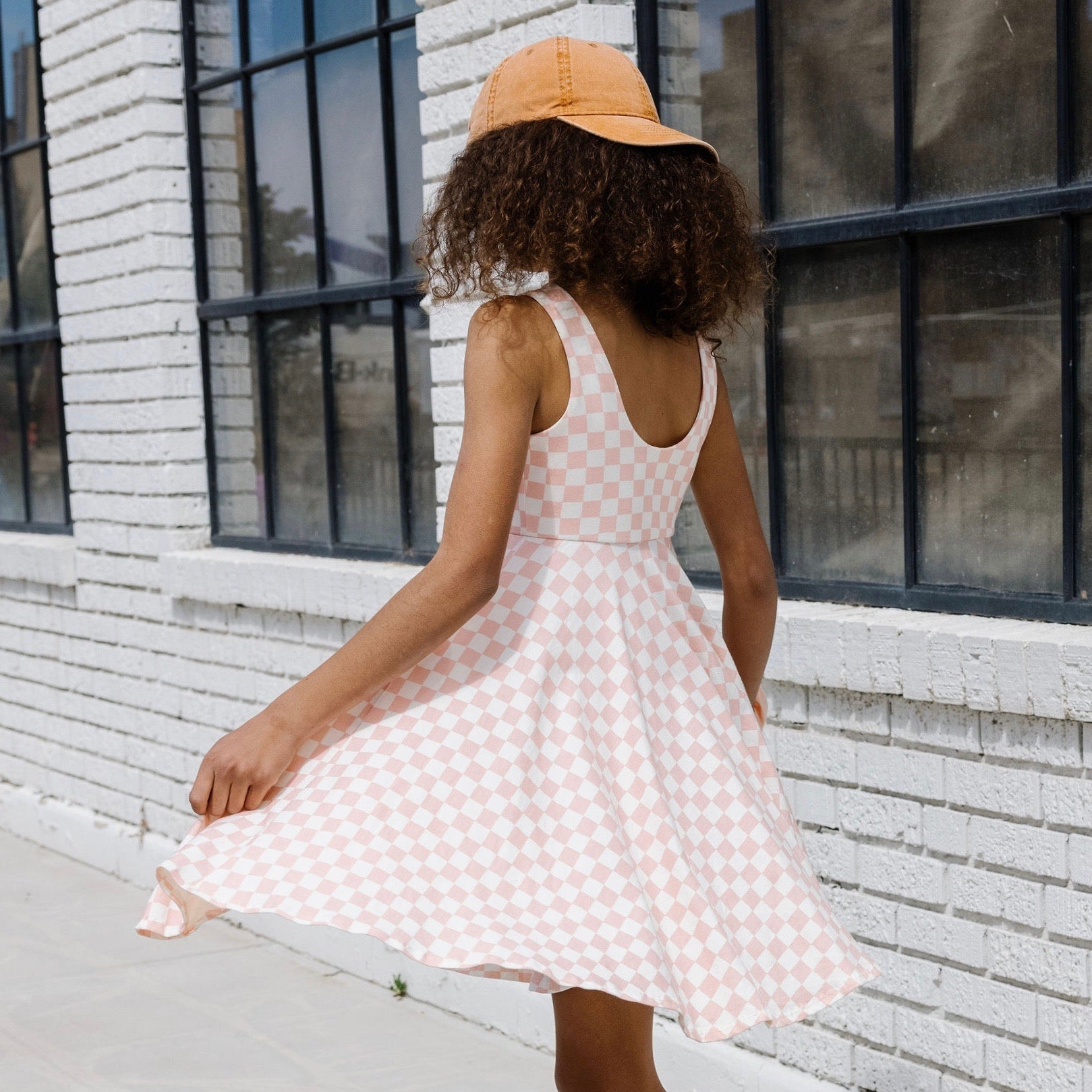 POCKET TWIRL DRESS - FRECKLE