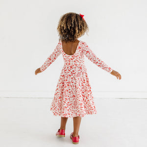 TILLIE DRESS - STRAWBERRY