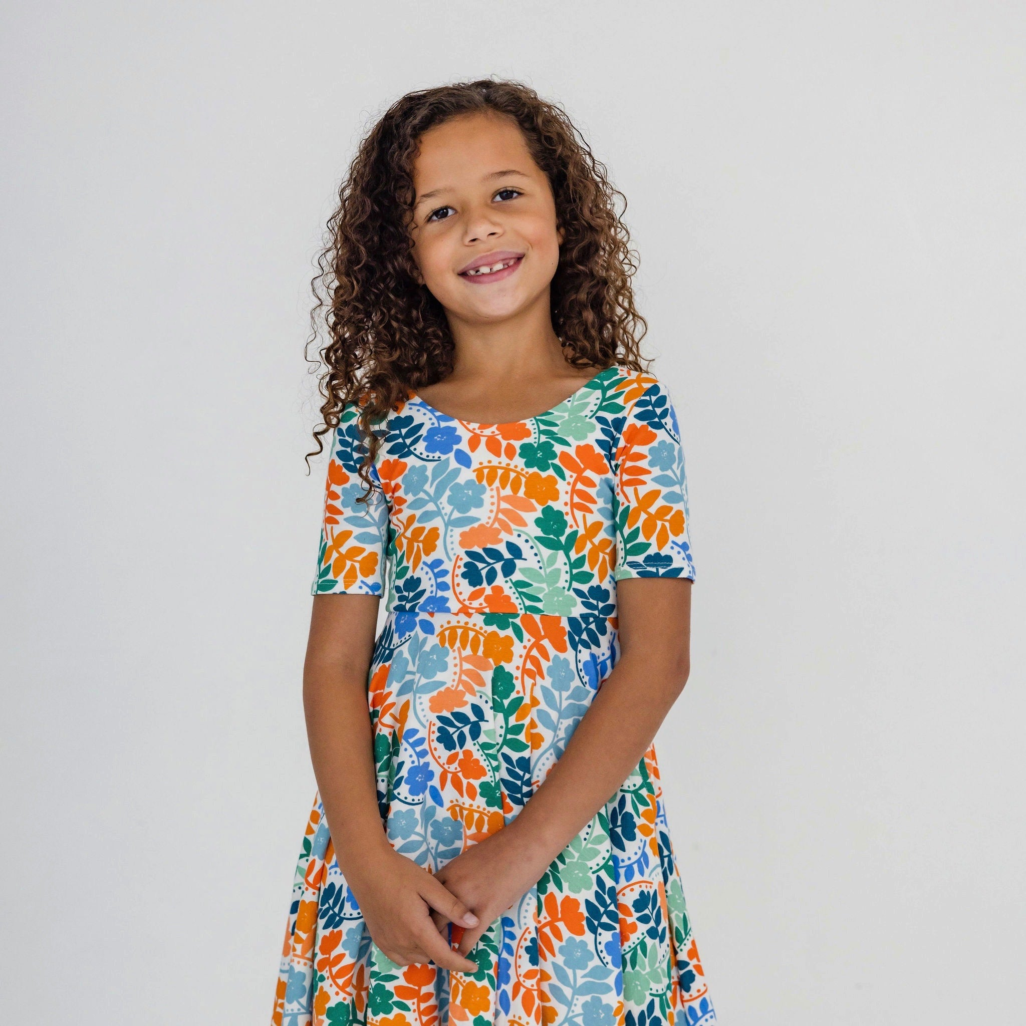 JANIE DRESS - IVORY