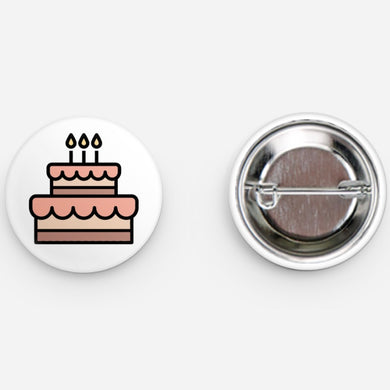 BIRTHDAY CAKE - BUTTON