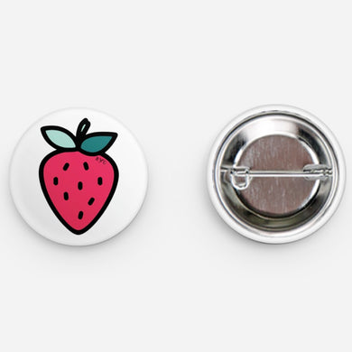 STRAWBERRY - BUTTON