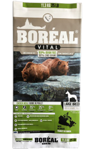 BOREAL Dog Food - VITAL LARGE BREED Chicken Meal