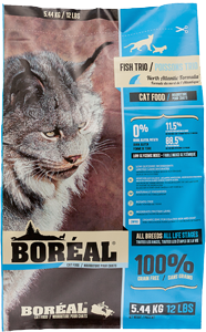 BOREAL Cat Food - ORIGINAL Fish Trio