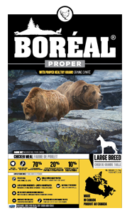 BOREAL Dog Food - PROPER LARGE BREED Chicken Meal