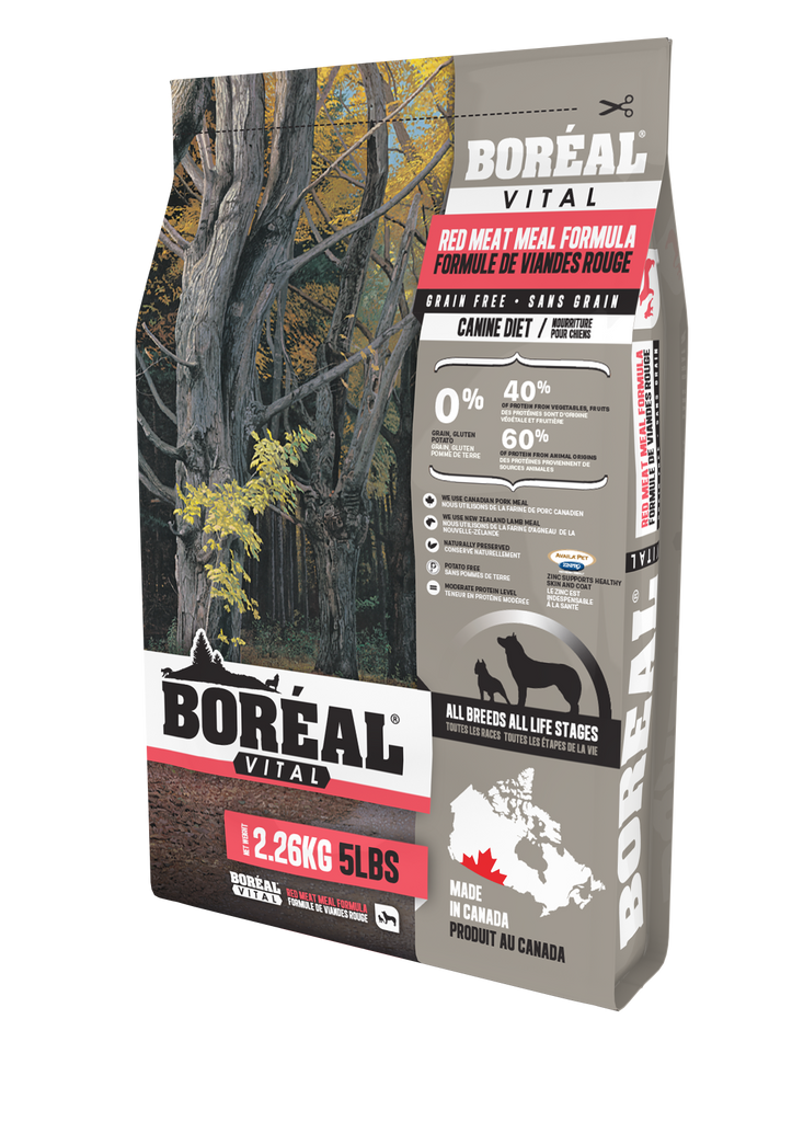 BOREAL Dog Food - VITAL Red Meat