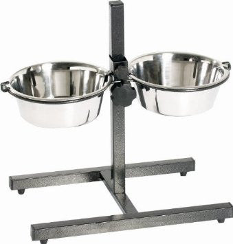 Stainless Steel Adjustable Double Diners