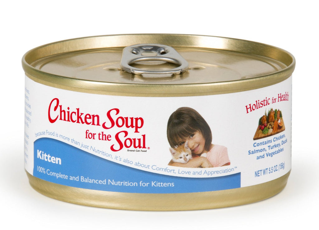 Chicken Soup Canned Cat Food