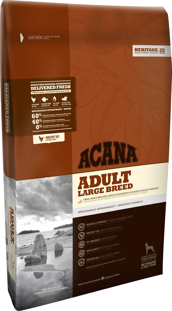 ACANA HERITAGE Large Breed Adult Dog Food