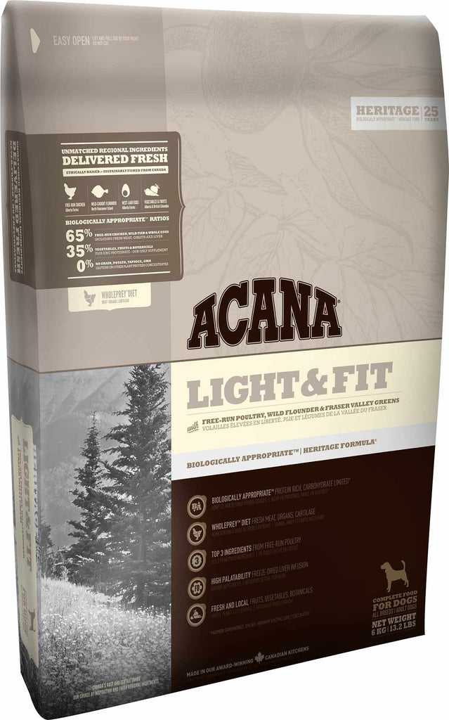 ACANA HERITAGE Light & Fit Dog Food