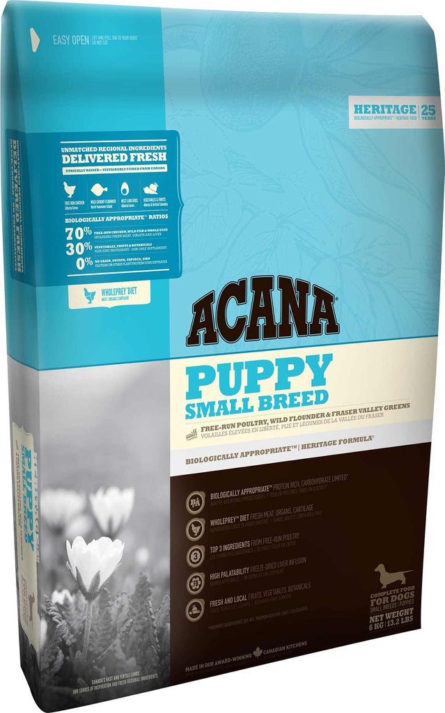 ACANA HERITAGE Small Breed Puppy Food