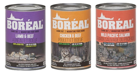 BOREAL Canned Dog Food