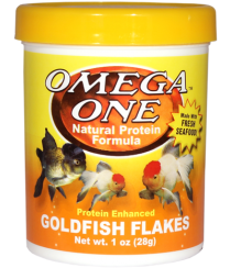 Omega One Goldfish Flakes