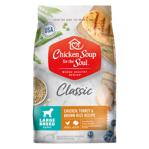 Chicken Soup - Large Breed Puppy Food