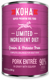 KOHA Limited Ingredient Diet - Pork Entrée