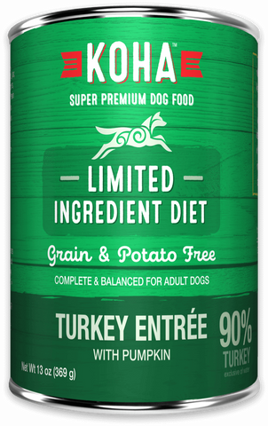 KOHA Limited Ingredient Diet - Turkey Entrée