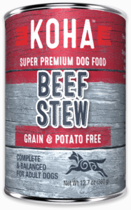 KOHA Minimal Ingredient Stew - Beef