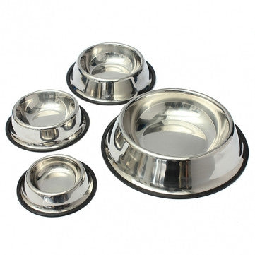 Stainless Steel Non-Skid Bowls
