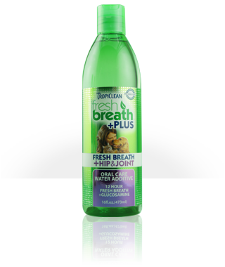 TropiClean Fresh Breath +Plus Hip & Joint