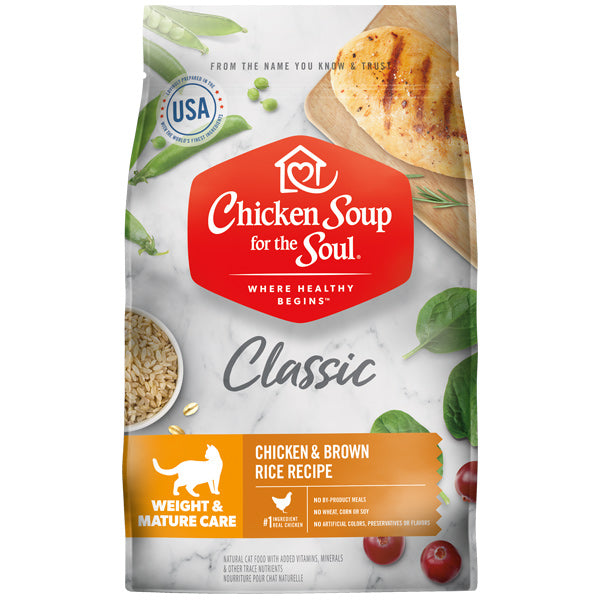 Chicken Soup Weight & Mature Care Cat Food