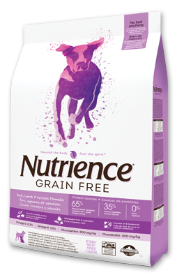 Nutrience Grain Free Dog Food - Pork, Lamb, Venison