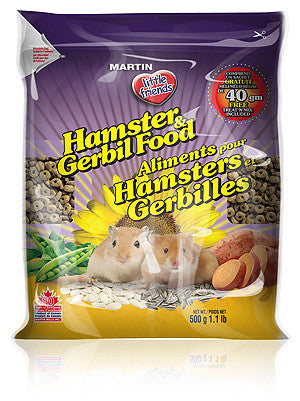 Little Friends Hamster & Gerbil Food
