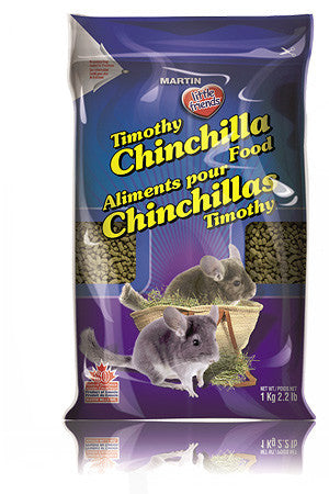 Little Friends Timothy Chinchilla Food