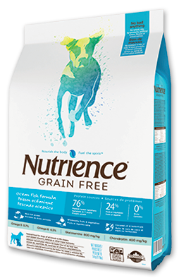 Nutrience Grain Free Dog Food - Ocean Fish