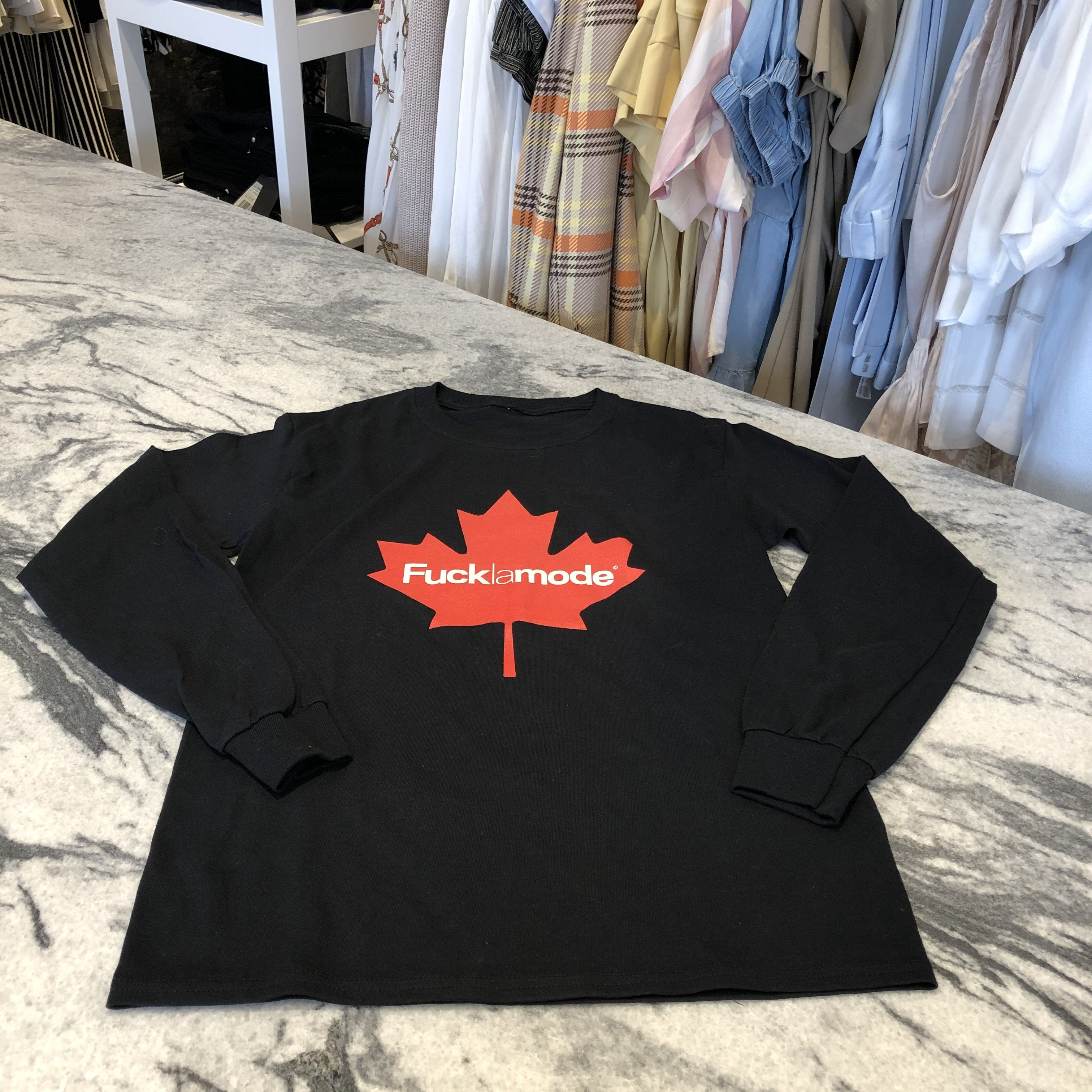 T-shirt FLM CANADA manches longues