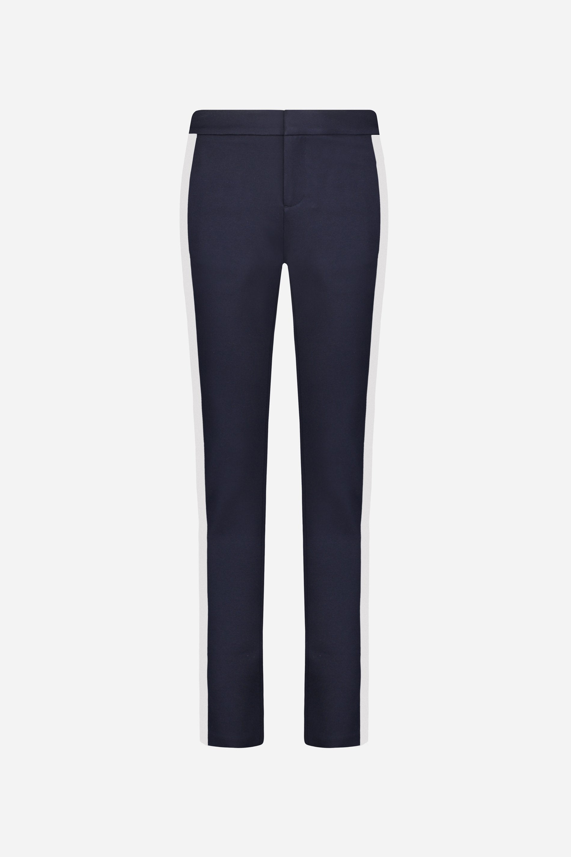 ECRU - Navy Pants with white line