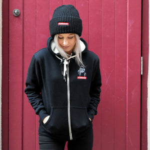 Zip Up Sherpa - Brodé FLM