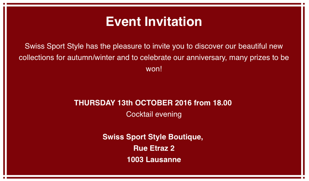 October 13th Cocktail Invitation
