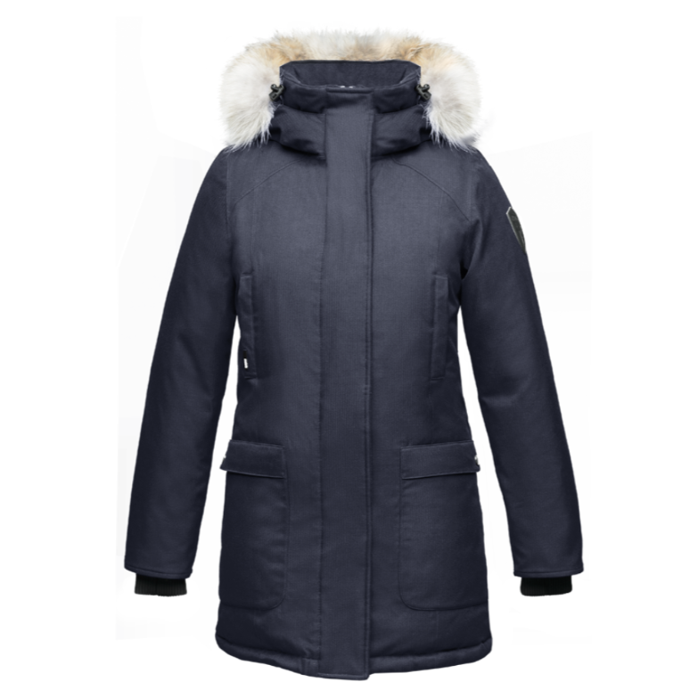 Carla Ladies Parka - Navy