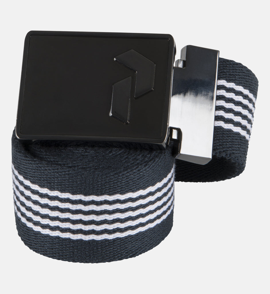 Striped Golf Belt - PEAK PERFORMANCE - 1