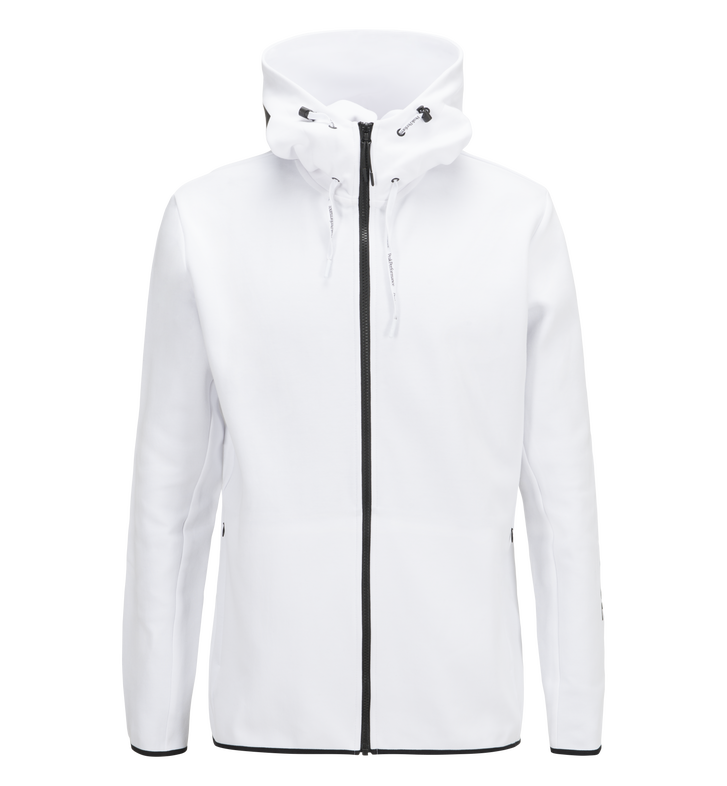 Sweat zip à capuche homme Tech