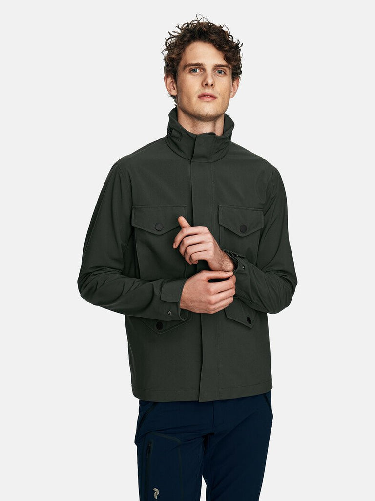SOFTSHELL FIELD JACKET MEN
