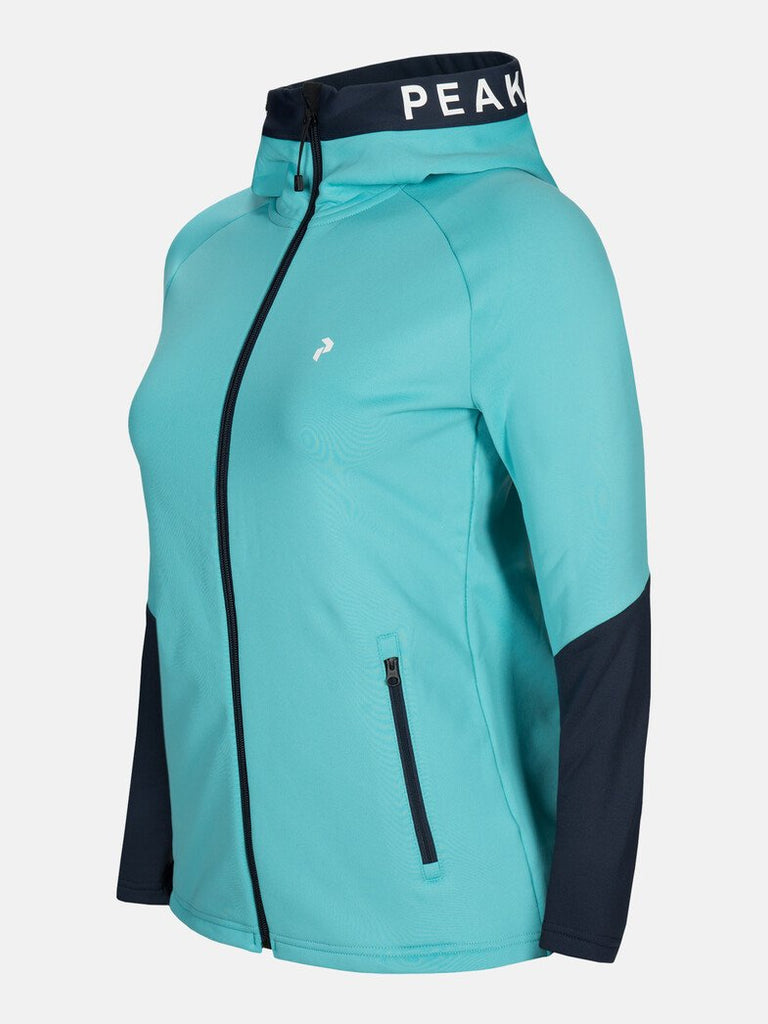 RIDER ZIP HOODED WOMEN