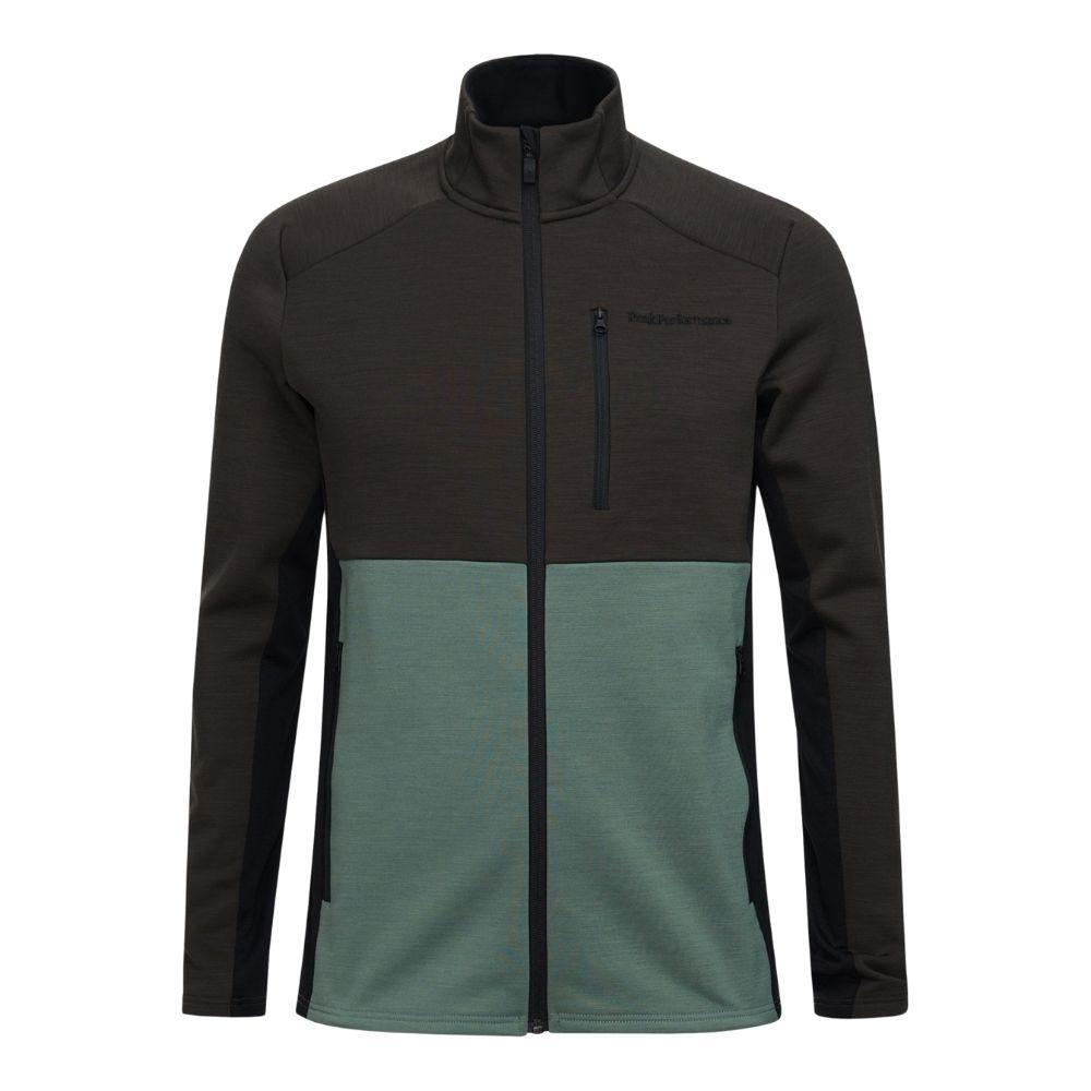 Vertical Mid Zip Jacket Men