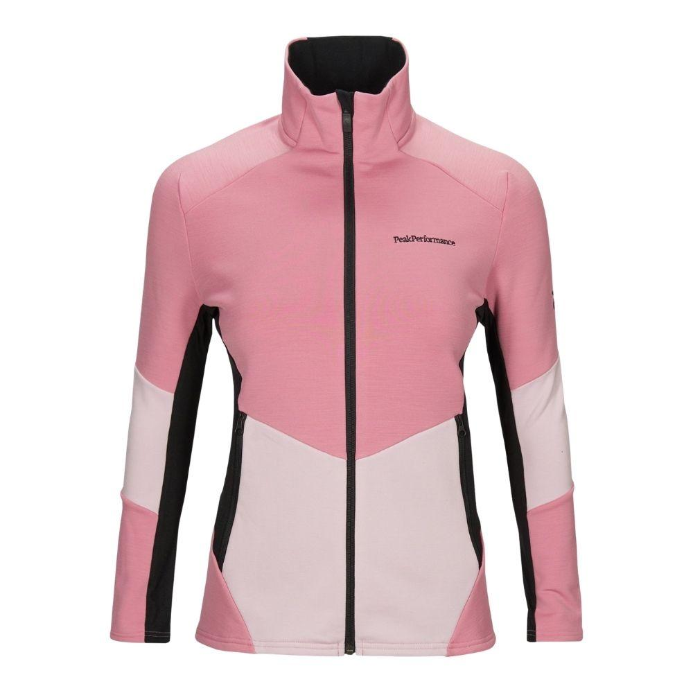 Vertical Mid Zip Jacket Women