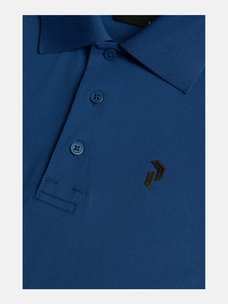 TECH SOLID POLO SHIRT MEN