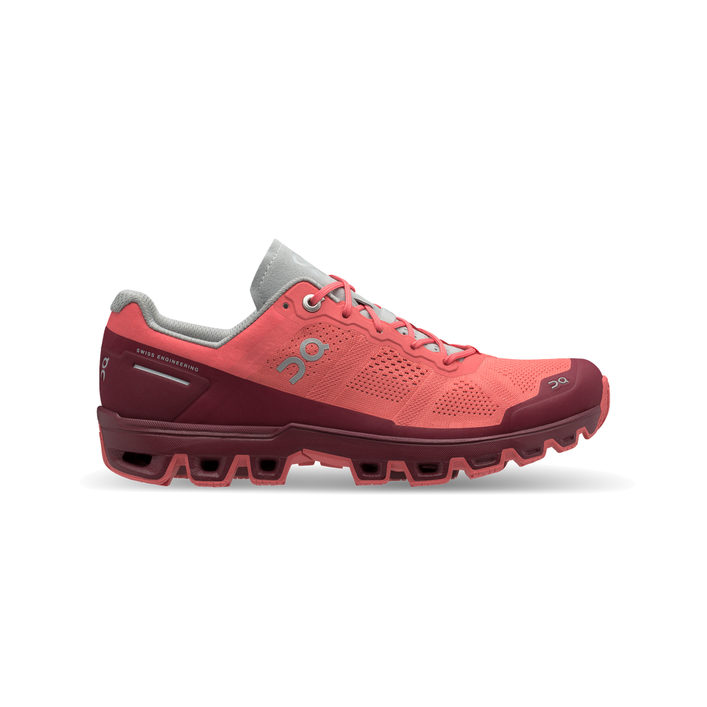 Cloudventure Woman - Coral & Mulberry