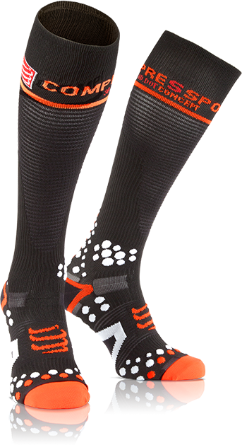 Compress Sport socks 3D dots effect